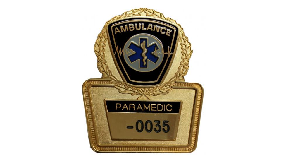 Insigne Paramédic