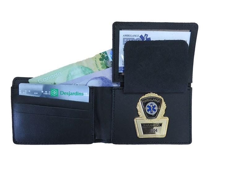 Portefeuille pour insigne