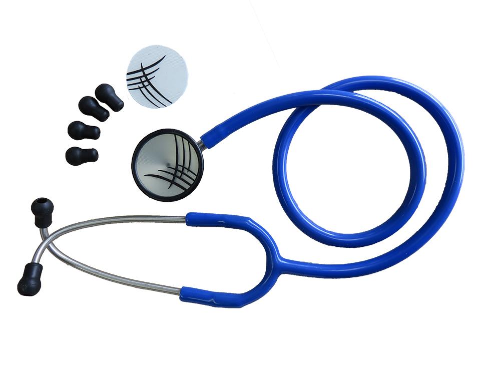 Stéthoscope à tête double en stainless Cardinal Health
